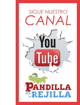 Canal de videos en Youtube Pandilla Rejilla