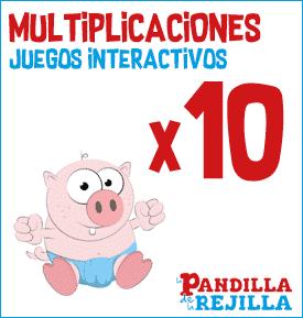 Juego Interactivo para Multiplicar Tabla del 10