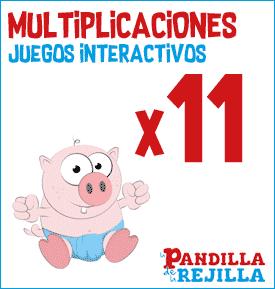 Juego Interactivo para Multiplicar Tabla del 11