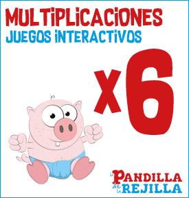 Juego Interactivo para Multiplicar Tabla del 6