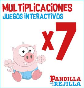 Juego Interactivo para Multiplicar Tabla del 7