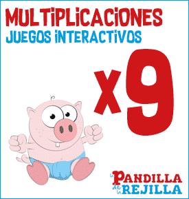 Juego Interactivo para Multiplicar Tabla del 9