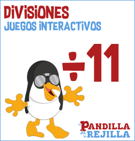 Juego Interactivo para Dividir Tabla 11