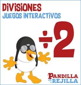 Juegos de Divisiones Matemáticas para Niños - La Pandilla de la Rejilla