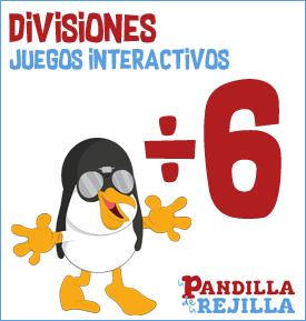 Juego Interactivo para Dividir Tabla 6
