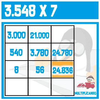 Multiplicación ABN 7