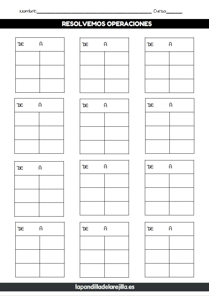 Rejilla Operaciones ABN 3 Filas 2 Columnas