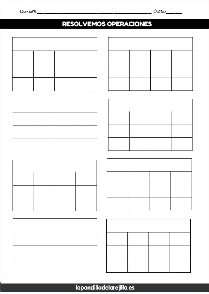 Rejilla ABN 3 Filas 4 Columnas