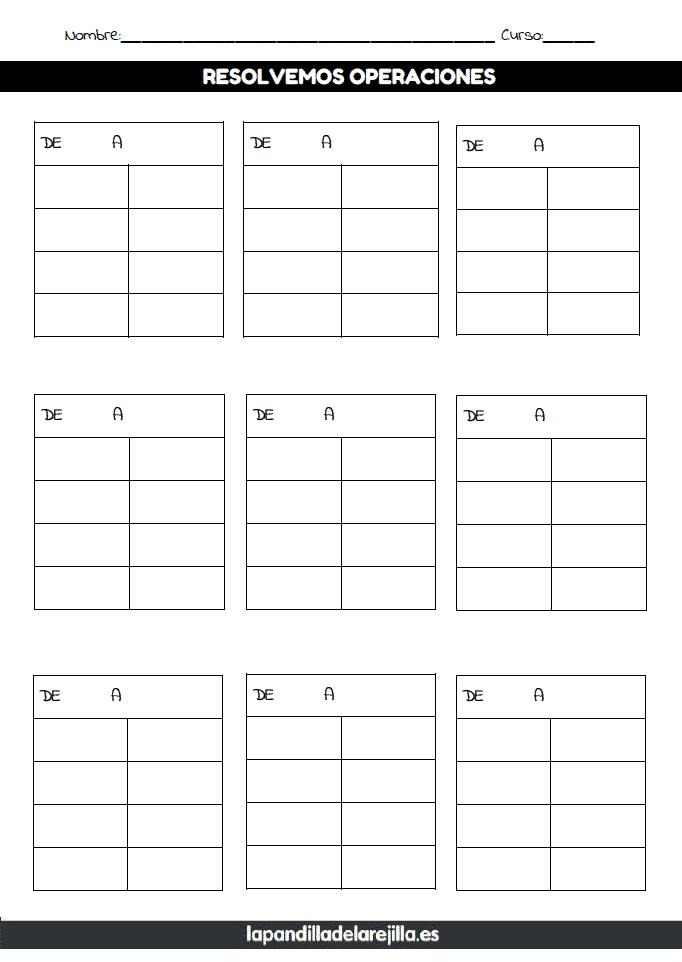 Rejilla ABN 4 Filas 2 Columnas