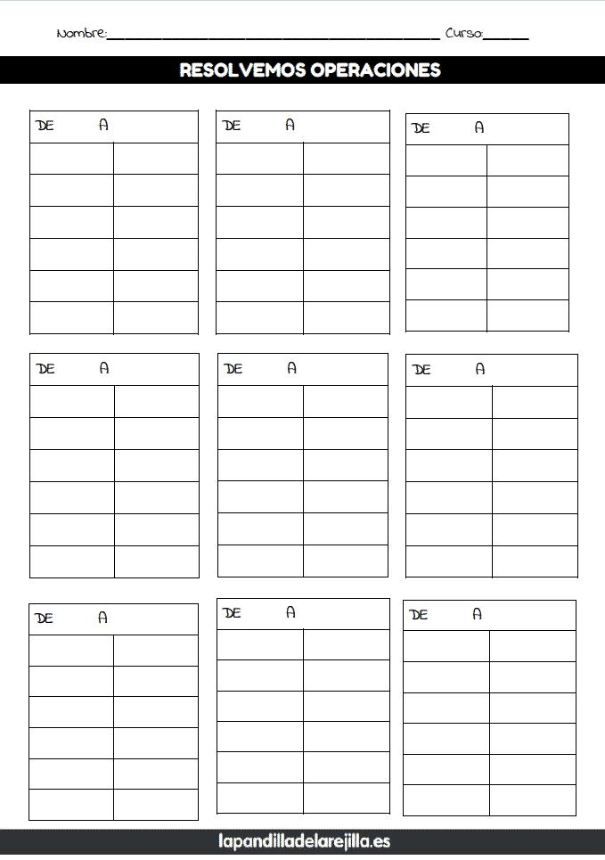 Rejilla ABN 6 Filas 2 Columnas