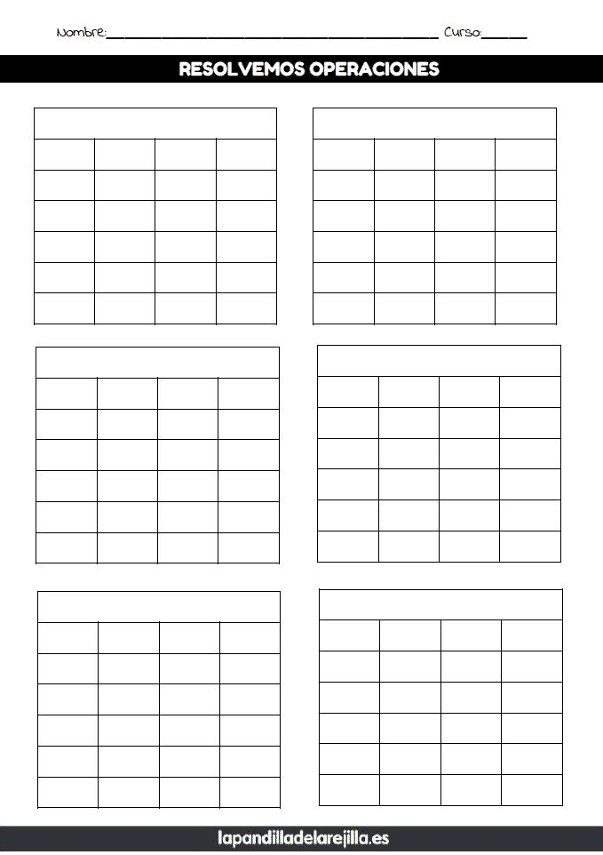 Rejilla ABN 6 Filas 4 Columnas